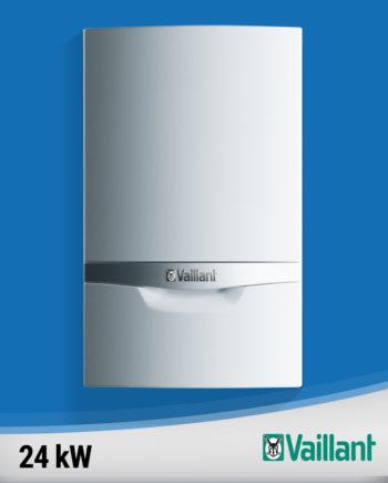 Imagine centrala termica condensare Vaillant-ecoTEC-plus-24-kw fundal albastru
