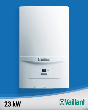Imagine centrala termica condensare Vaillant-ecoTEC-pure-23-kw fundal albastru