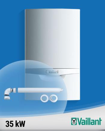 Imagine-Vaillant-ecoTEC-plus-35-kw-VU-doar-incalzire-cu-kit-evacuare-fundal albastru